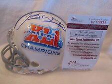Tony Dungy Autographed Colts Super Bowl XLI Champions Mini Helmet - JSA Cert