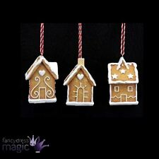 *Gisela Graham Festive Hanging Gingerbread House Christmas Tree Home Decoration*