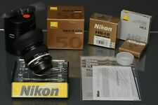 5) Nikon 50 1.2 ais, boxed ,99,8% mint, NOS,filter, boxed, film/digi, top