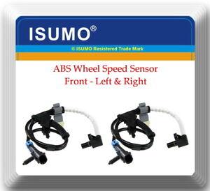 2 x ABS Wheel Speed Sensor Front left & Right Fits: Hummer H2 2003-2007 V8 6.0L