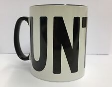 UNT Mug~Rude C+ mug~cunt mug~fun~ Secret Santa Great Office Novelty Gift Joke