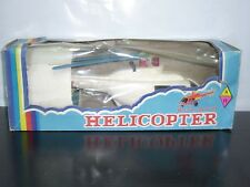 70'S Pappas Bros Greek Helicopter Mib Battery Operated Working