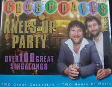 Chas & Dave - Knees up Party 100 Sing a Long Greats - 2 X Cassette Tape Set