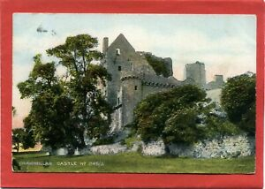 Postcard, Craigmillar Castle, Edinburgh, Midlothian, pmk 1908