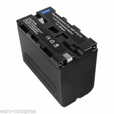 batterie NP-F550 sony 6600mAh HDR-AX2000 AX2000E CCD-TR1 TR200 TR215 TR3