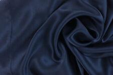 1 Luxury Pure Charmeuse SILK Pillowcase Housewife ( Midnight Blue)