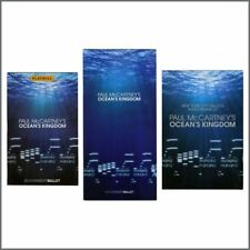 Paul McCartney 2011 Ocean's Kingdom Souvenir Booklets (USA)