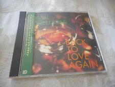 Paul Williams Back to Love Again CD Japan Release 1996 Pioneer 3 Songs