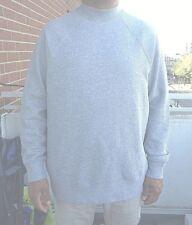 H&M lässige Herren Pullover Sweatshirt langarm Sweater NEU grau M Relaxed NEU
