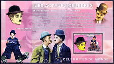 Congo MNH Imperf SS, Actors, Charlie Chaplin