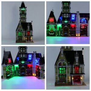 LED Light Kit For 10273 Haunted House Building Blocks FAST SHIPPING!!