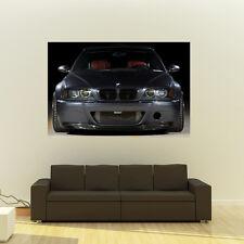 BMW M3 E46 Giant HD Poster Huge 54x36 Inch Print 137x91 cm