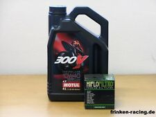 Motul 300 V 10W-40 / Ölfilter Triumph 660 Street Triple S A2 Bj 18
