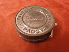 Scatola di latta lucido scarpe GUTTALIN Padova - CREMA NERA - vintage ANNI '50
