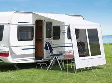 DWT Sonnendach Wohnwagen Flora 300x240 cm grau Vorzelt Camping Zelt
