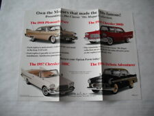 DANBURY MINT '50S MOPAR COLLECTION BROCHURE ONLY NO CAR 1956 DESOTO ADVENTURER
