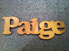 Personalised Wooden Door Plaque Names Sign Gift Birthday Craft Shapes