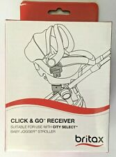 BRITAX CLICK & GO RECEIVERS to fit Baby Jogger City Select & City Select LUX