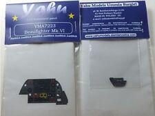YAHU Modelli yma7223 1/72 PE BRISTOL BEAUFIGHTER Mk. vi CRUSCOTTO