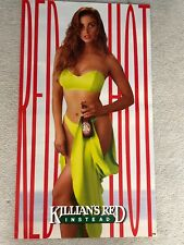 "Killian's Red - ""Red Hot"" Sexy Girl Beer Poster"