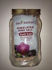Salt Range Himalayan Pink Salt Bath Salt 100% Naturally Pure up to 84+ minerals