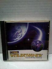 Corel Web Designer : For Powerful Web Page Publishing! Windows PC Software: 1996