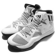 Adidas Crazy Bounce Men's Basketball Shoes Sneakers Size 9 White/Black B72766