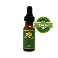 0.6 oz with Glass Dropper Premium Liquid Gold Peppermint Essential Oil Organic