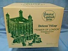 DEPT. 56 TOWER OF LONDON - 1st HISTORICAL LANDMARK SERIES DESIGN - NEW/MINT