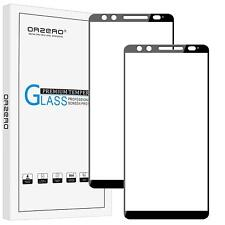 HTC U12 Plus Tempered Glass Screen Protector 2.5D Arc Edges 9 Hardness HD 2 Pack
