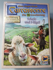Carcassonne Expansion - Sheep & Hills New Edition, Brand New with English Rules