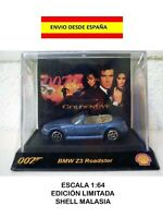 BMW Z3 ROADMASTER 1:64  GOLDEN EYE 007 JAMES BOND SHELL DIE CAST MAQUETA