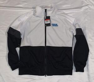 Nike Women's Carolina Panthers Track Jacket Large NWT $80