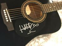COA HARRY STYLES SIGNED AUTOGRAPHED ACOUSTIC GUITAR - ONE DIRECTION AUTOGRAPH
