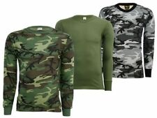 Unbranded Long Sleeve Army T-Shirts for Men