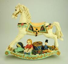 Ornamental Resin Rocking Horse for Child's Bedroom VA178