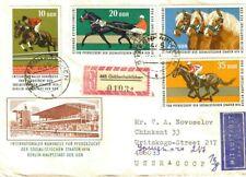 1974 Germany  Horses Sport International Registered mail