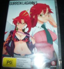 GURREN LAGANN 5 – Eps 19 – 23 Anime (Australia Region 4) DVD – New