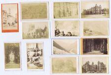 More details for cdv job lot of 37 x carte de viste churches, buildings, places, houses etc