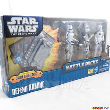 Star Wars Clone Wars the animated series Defend Kamino Battle Packs box set