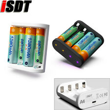 Original ISDT A4 10W 1.5A AA AAA Battery Charger DC Smart Battery Charger