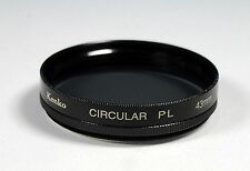 Kenko circular pl (Pol Filter) 43mm Screw-in Filter / Filtro / Filtre