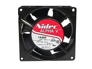 Nidec Alpha V, TA300, A30716-10, p/n 933304, 115V, .062/.050A, 50/60Hz, 80mm fan