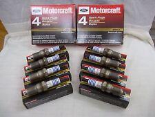 1998 1999 2000 2001 FORD CROWN VICTORIA MOTORCRAFT PLATINUM SPARK PLUGS SET OF 8