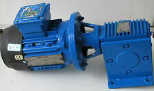 Brook Hansen 0.37 KW MOTORE ELETTRICO RIDUTTORE DRIVE TRIFASE gear-drive orientata MOTORE