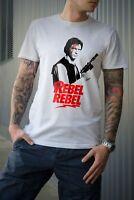 Star Wars HAN SOLO T-shirt REBEL REBEL David Bowie Inspired design