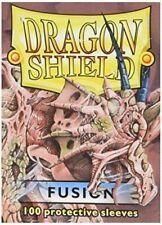 100 Protective Sleeves Fusion MTG Magic Dragon Shield