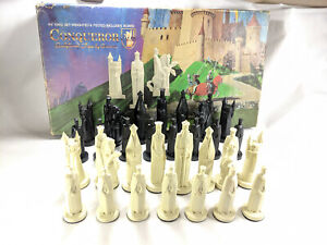 Ganine Conqueror Chess 1962 King Queen Rooks Bishop Knight Pawn Individual Piece