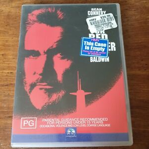 The Hunt for Red October DVD R4 Like New! FREE POST