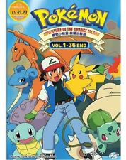 Anime Pokemon Season 2 Adventure In The Orange Island Complete ENGLISH Box Set